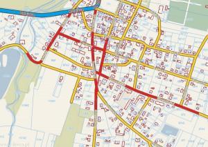 Mapa schetynówek