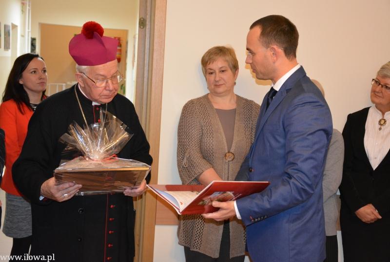 Wizyta biskupa w Iłowej